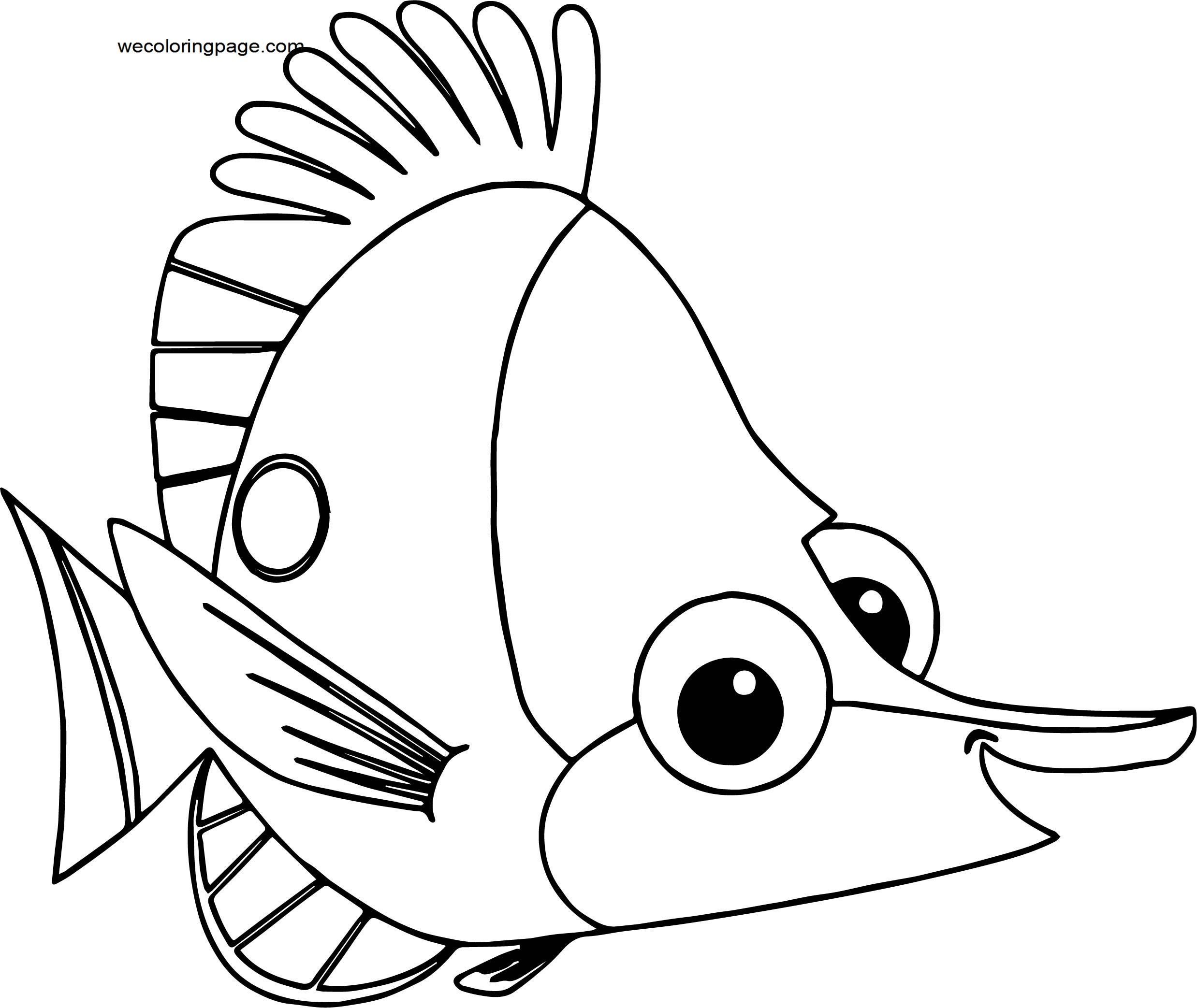 Disney Finding Nemobubbles 214145002 Coloring Pages