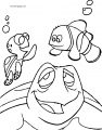 Disney Finding Nemocrush 2 Coloring Pages