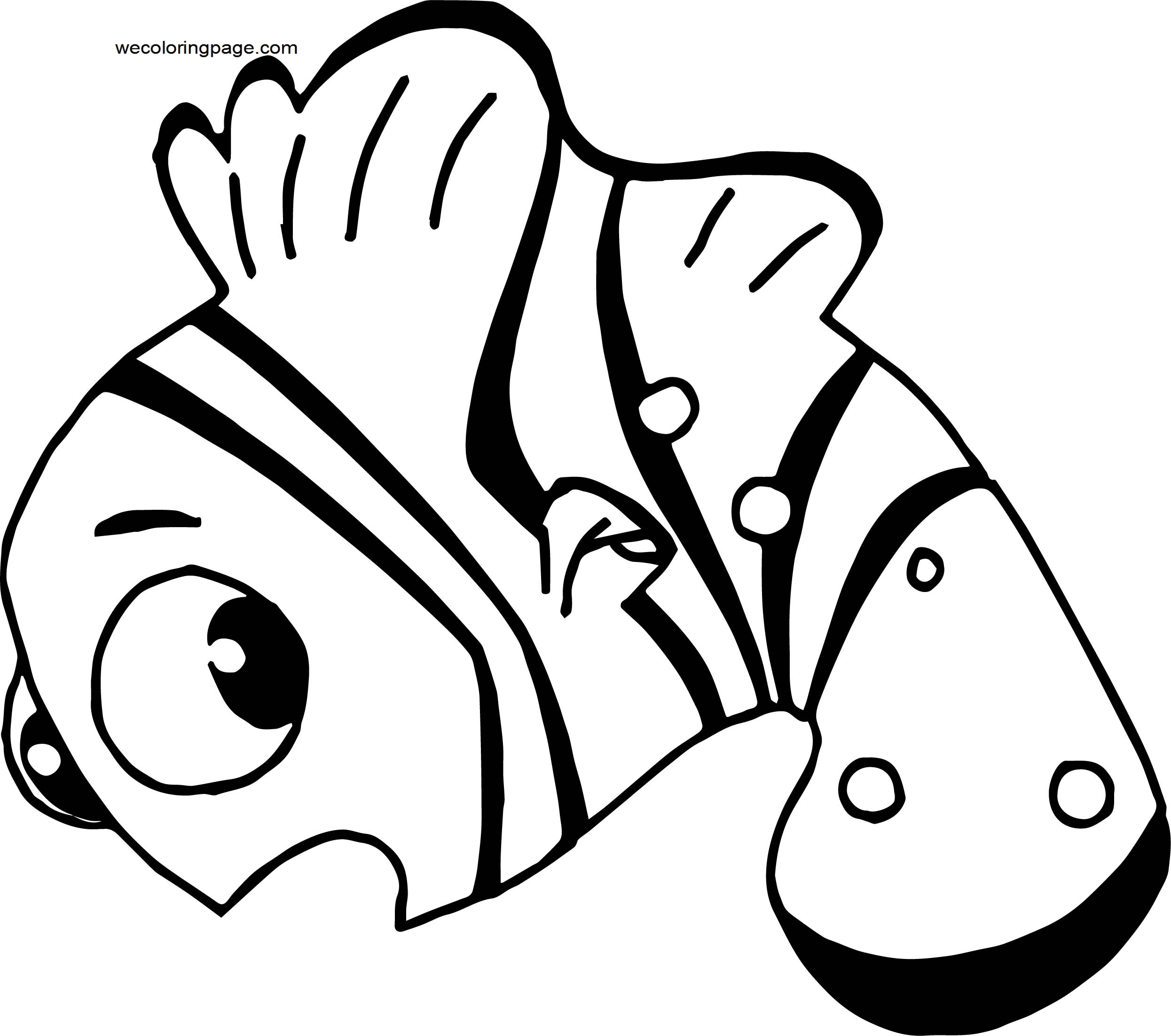 Disney Finding Nemocutie 3 Coloring Pages