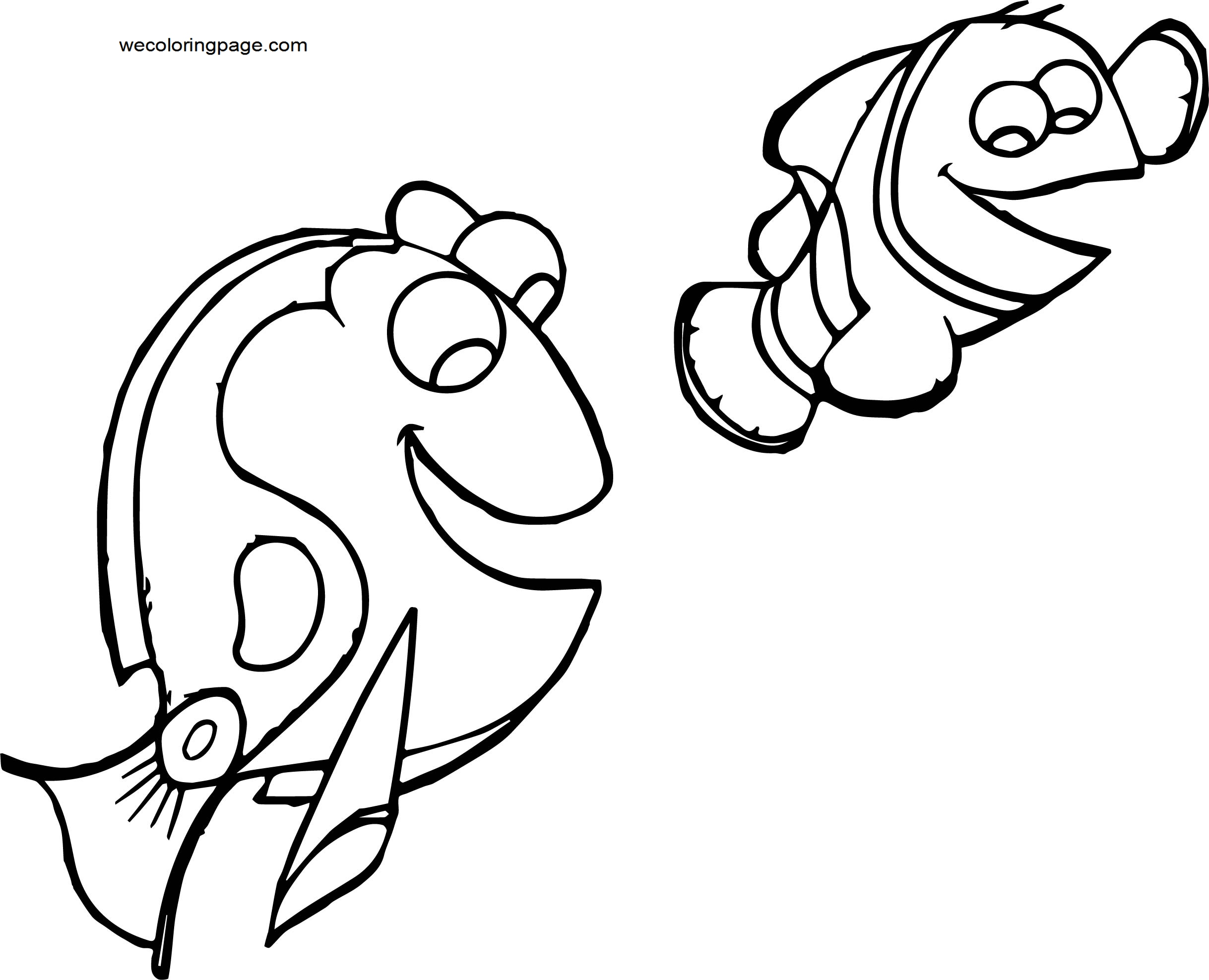 Disney Finding Nemofinding nemo 21 Coloring Pages