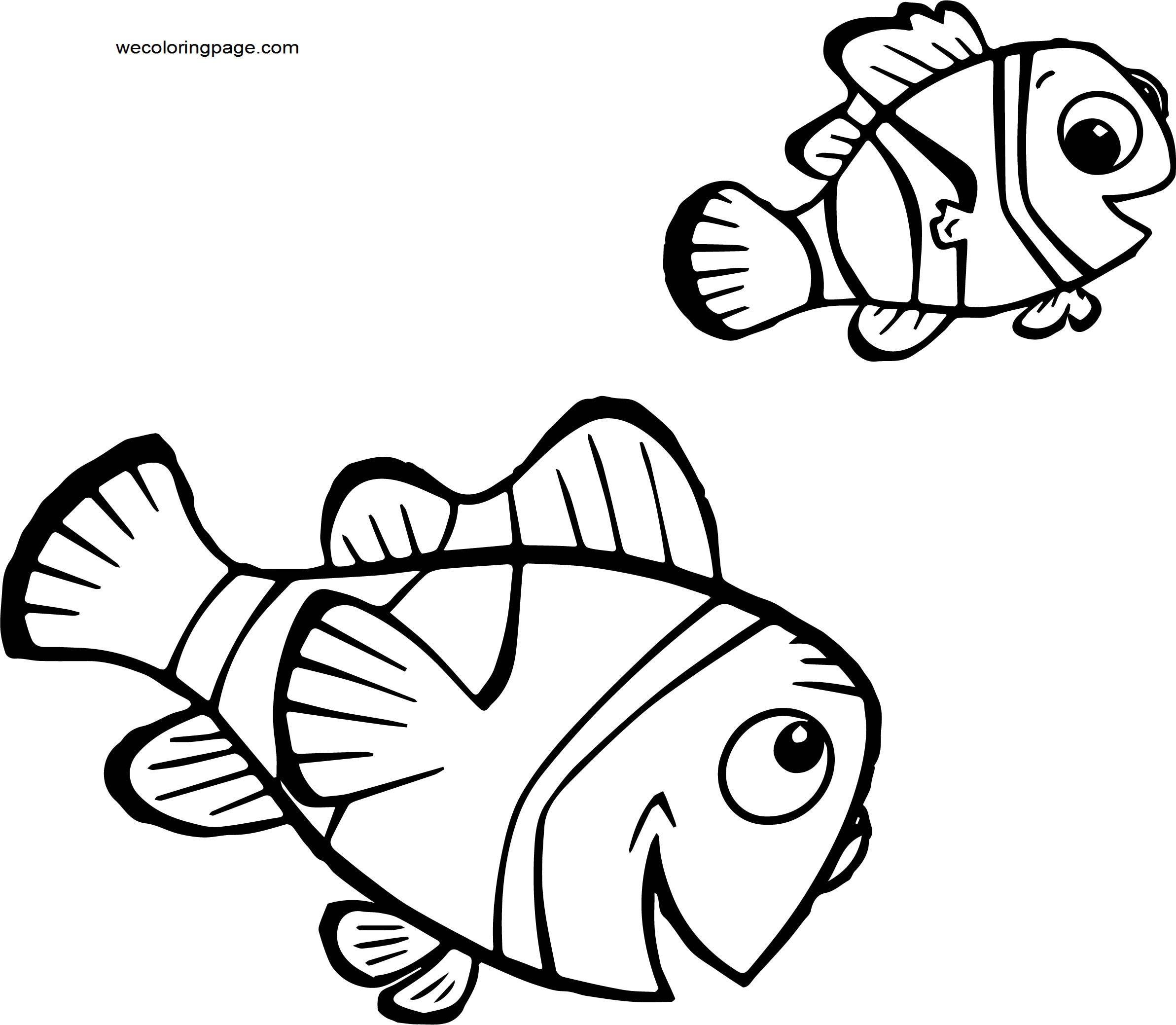 Disney Finding Nemofinding nemo 22 Coloring Pages