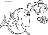 Disney Finding Nemofish water Coloring Pages