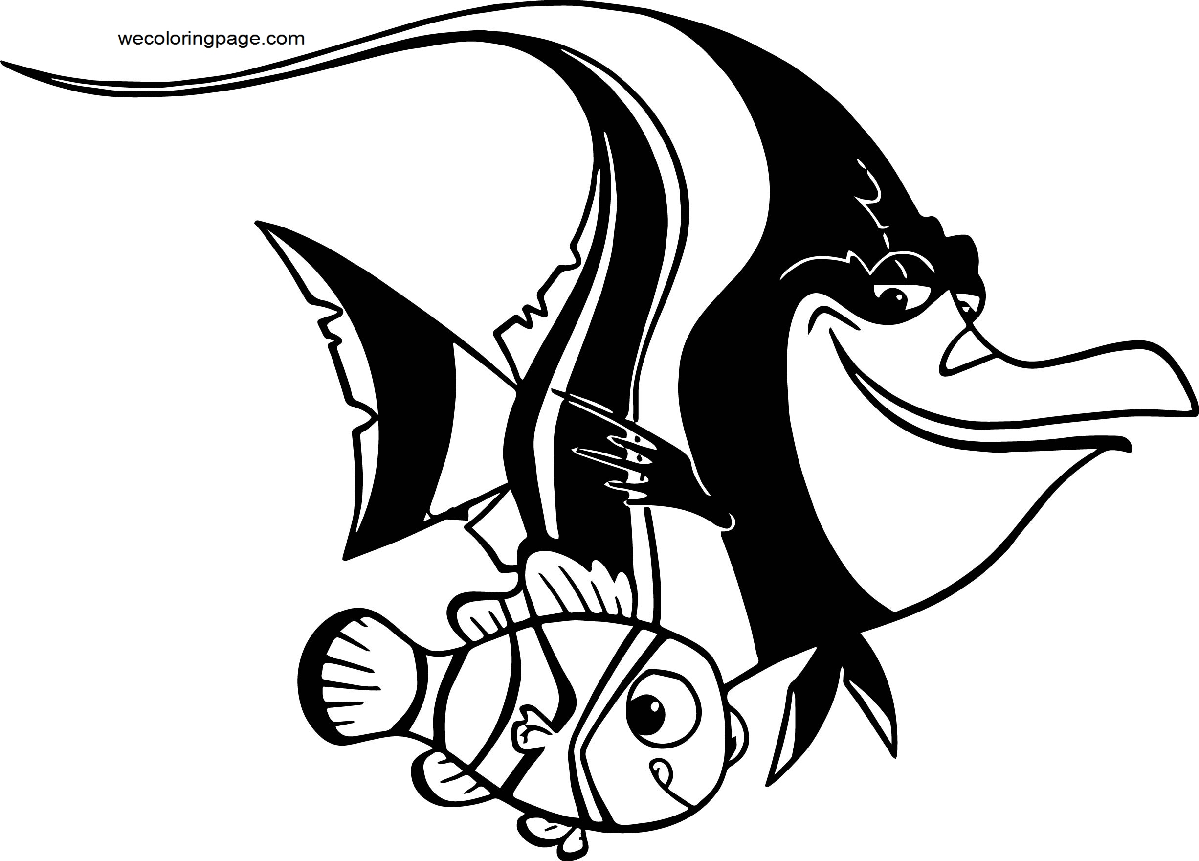 Disney Finding Nemogill nemo Coloring Pages