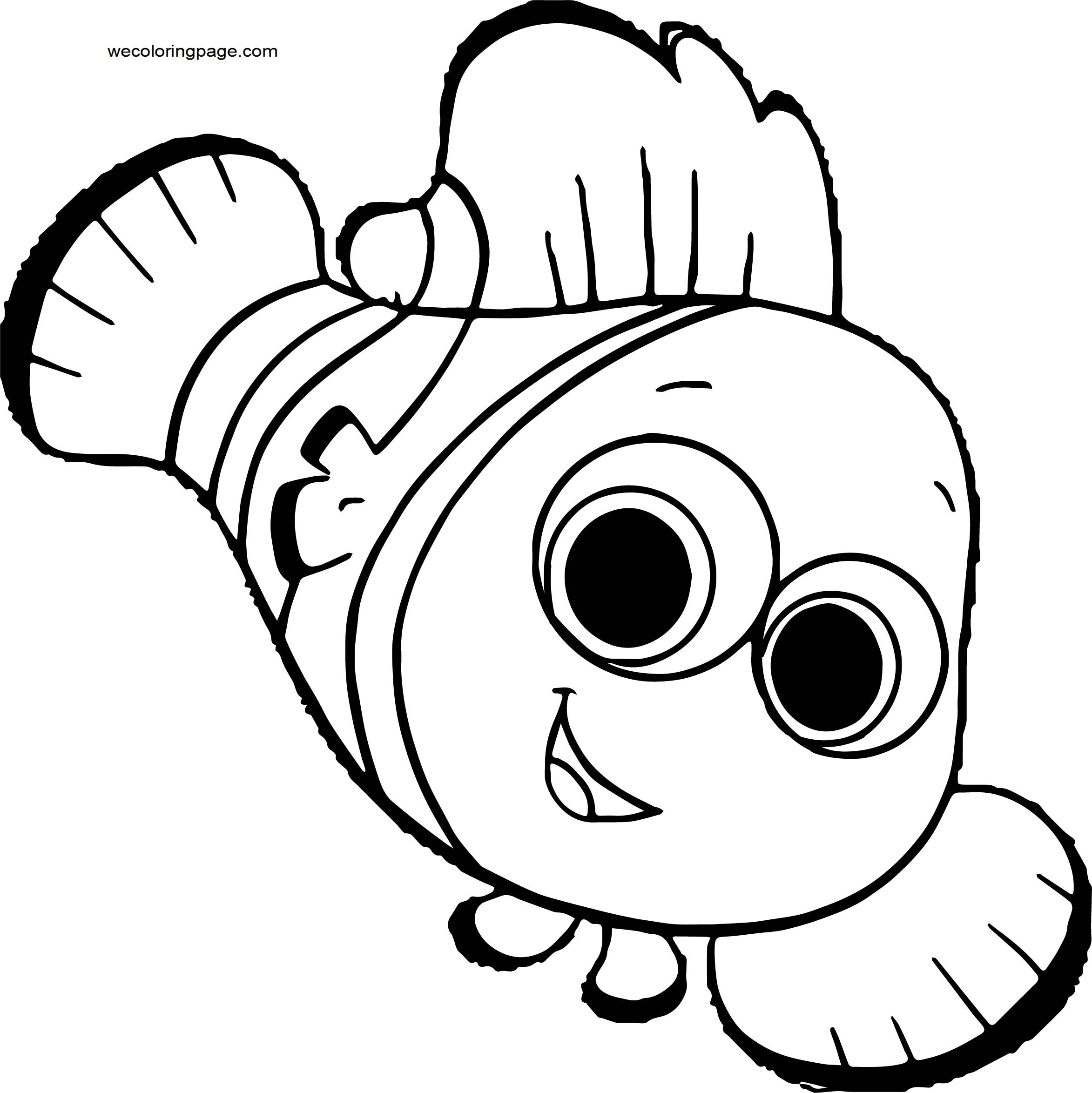 Disney Finding Nemonemo 21 Coloring Pages