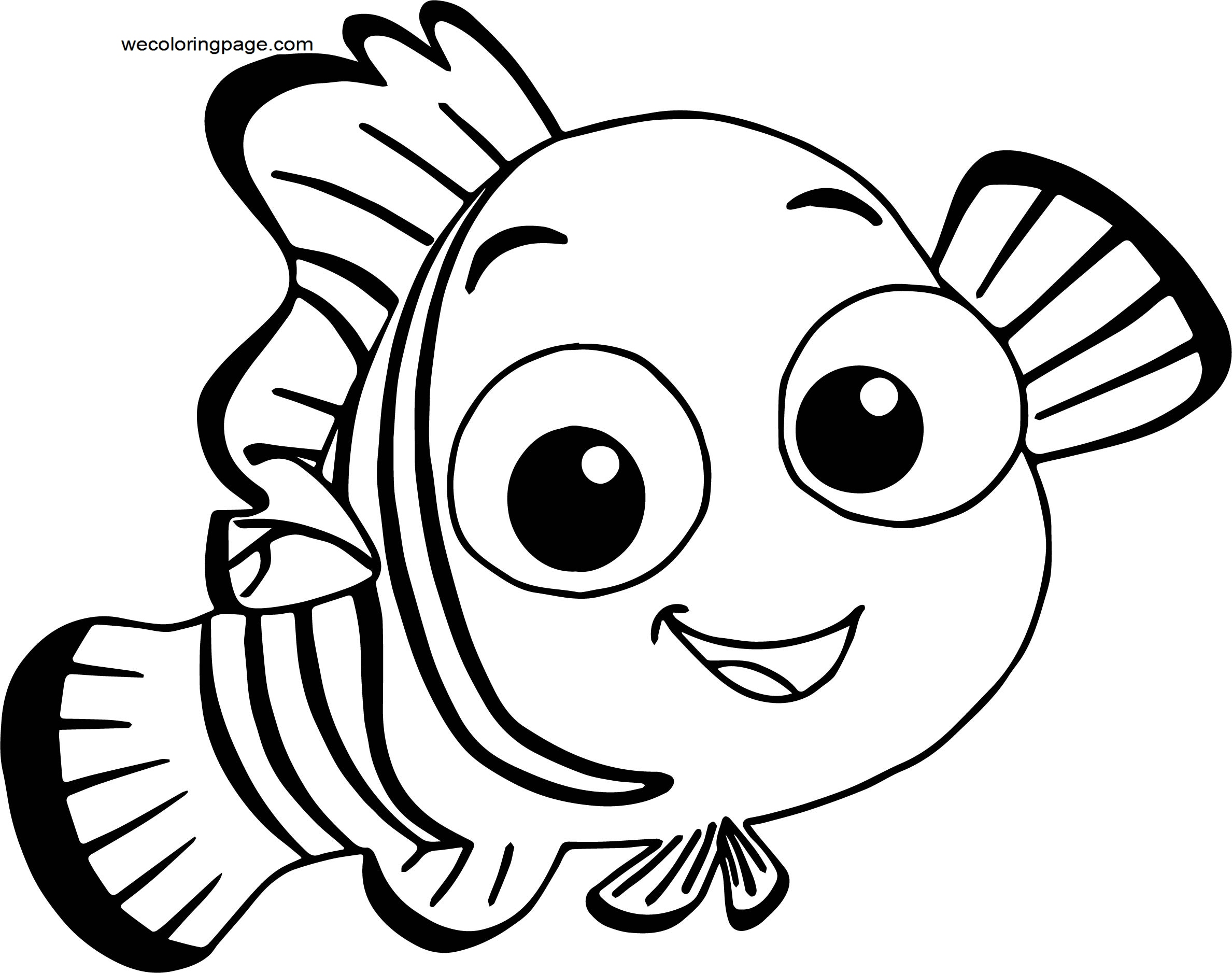 Disney Finding Nemonemo 3 Coloring Pages
