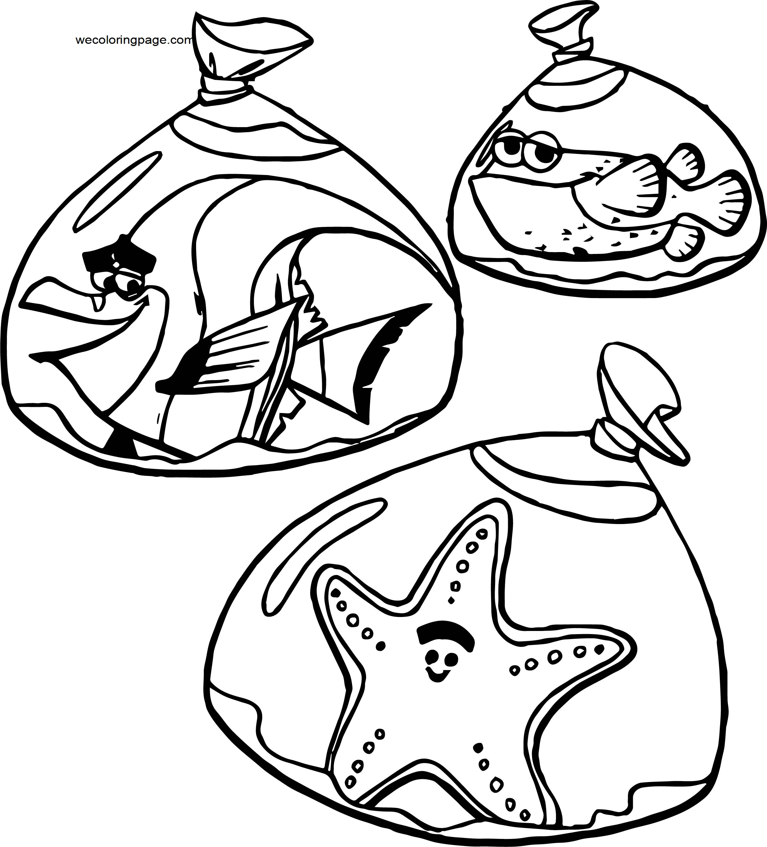 Disney Finding Nemopfg 16 Coloring Pages