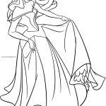 Disney Princess Aurora Me Coloring Page