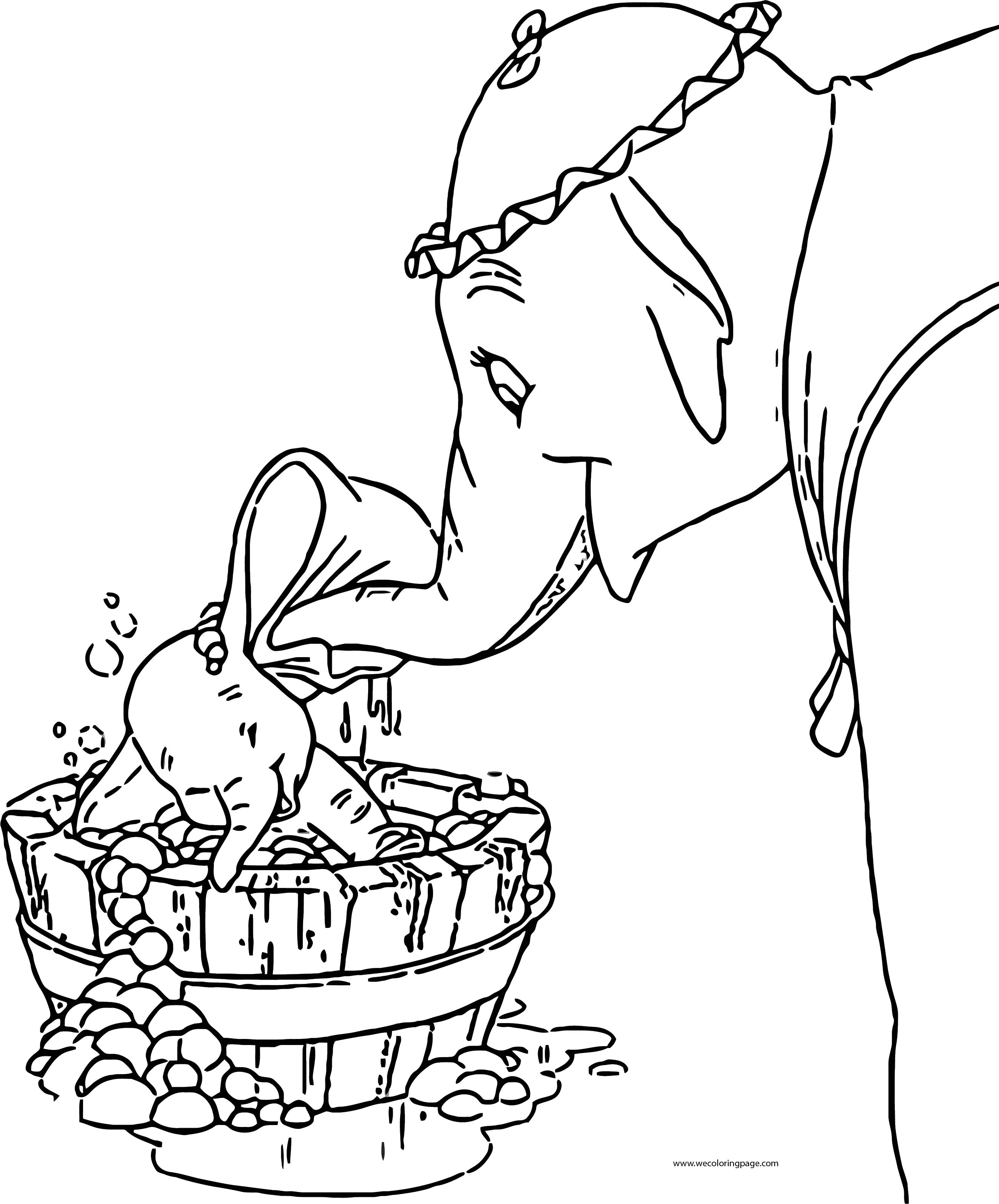 bath time coloring pages - photo#9