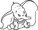 Dumbo Ears Coloring Pages