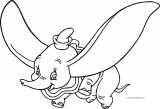 Dumbo Fly 4 Coloring Pages
