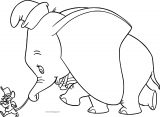 Dumbo Follow Coloring Page