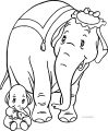 Dumbo Mom2 Coloring Pages