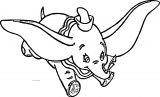 Dumbo Swoop 2 Coloring Pages