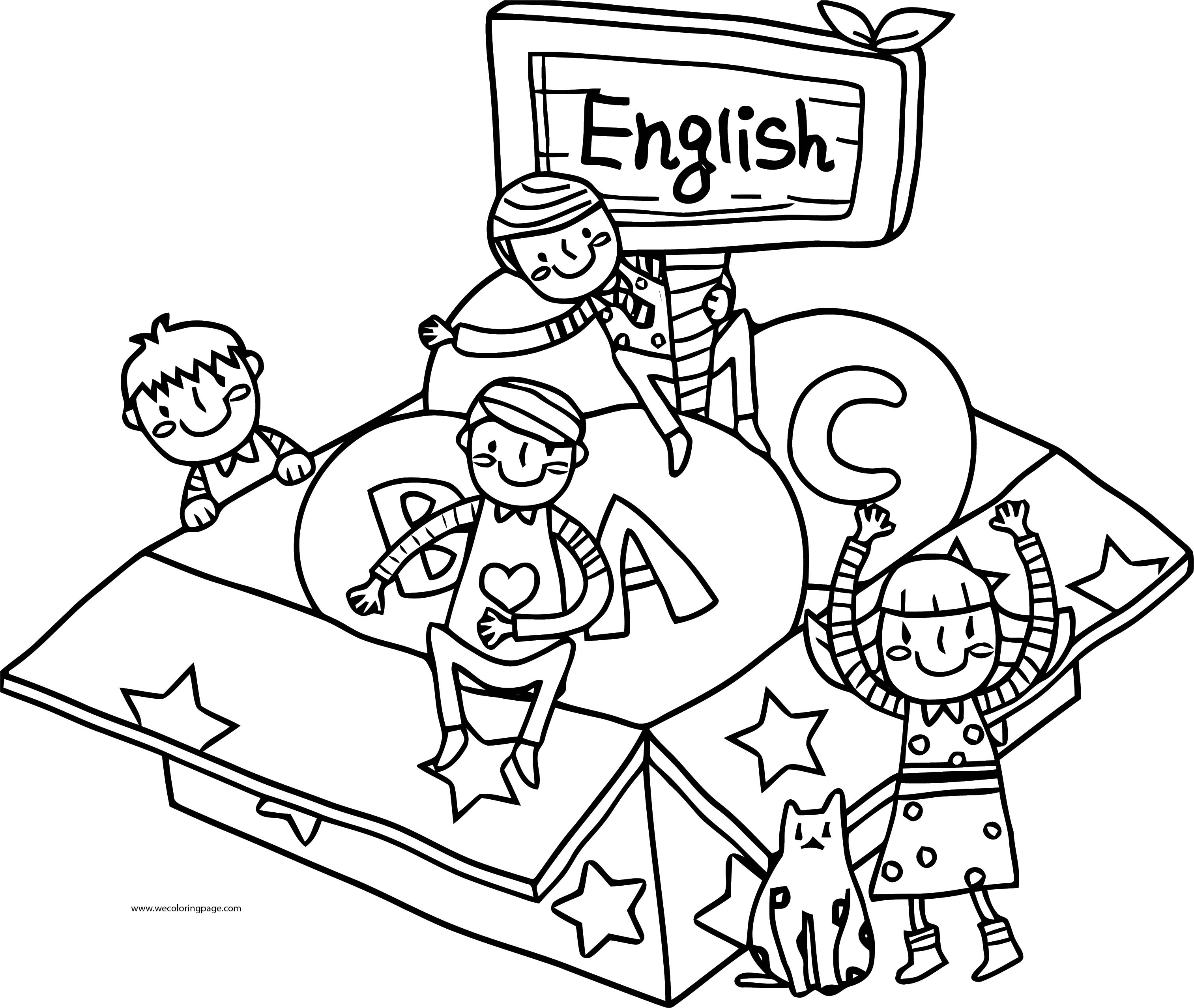 Esl coloring pages ~ English Teacher We Coloring Page 060   Wecoloringpage.com