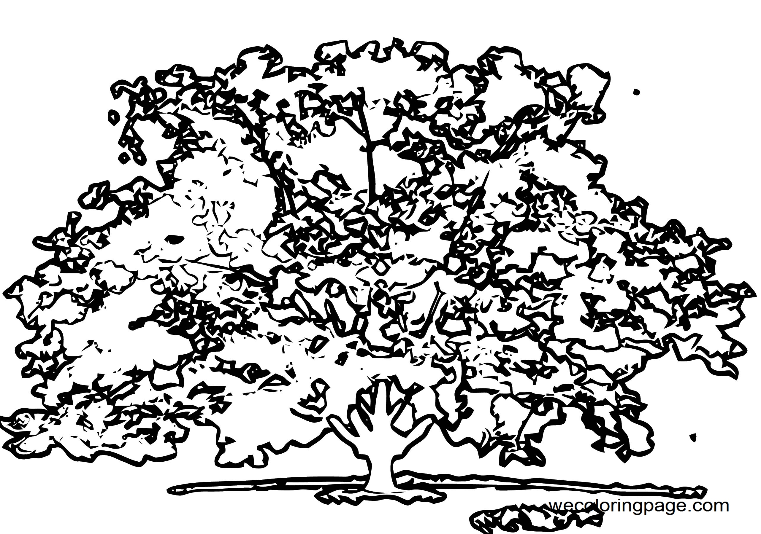 Fall Coloring Page WeColoringPage 087