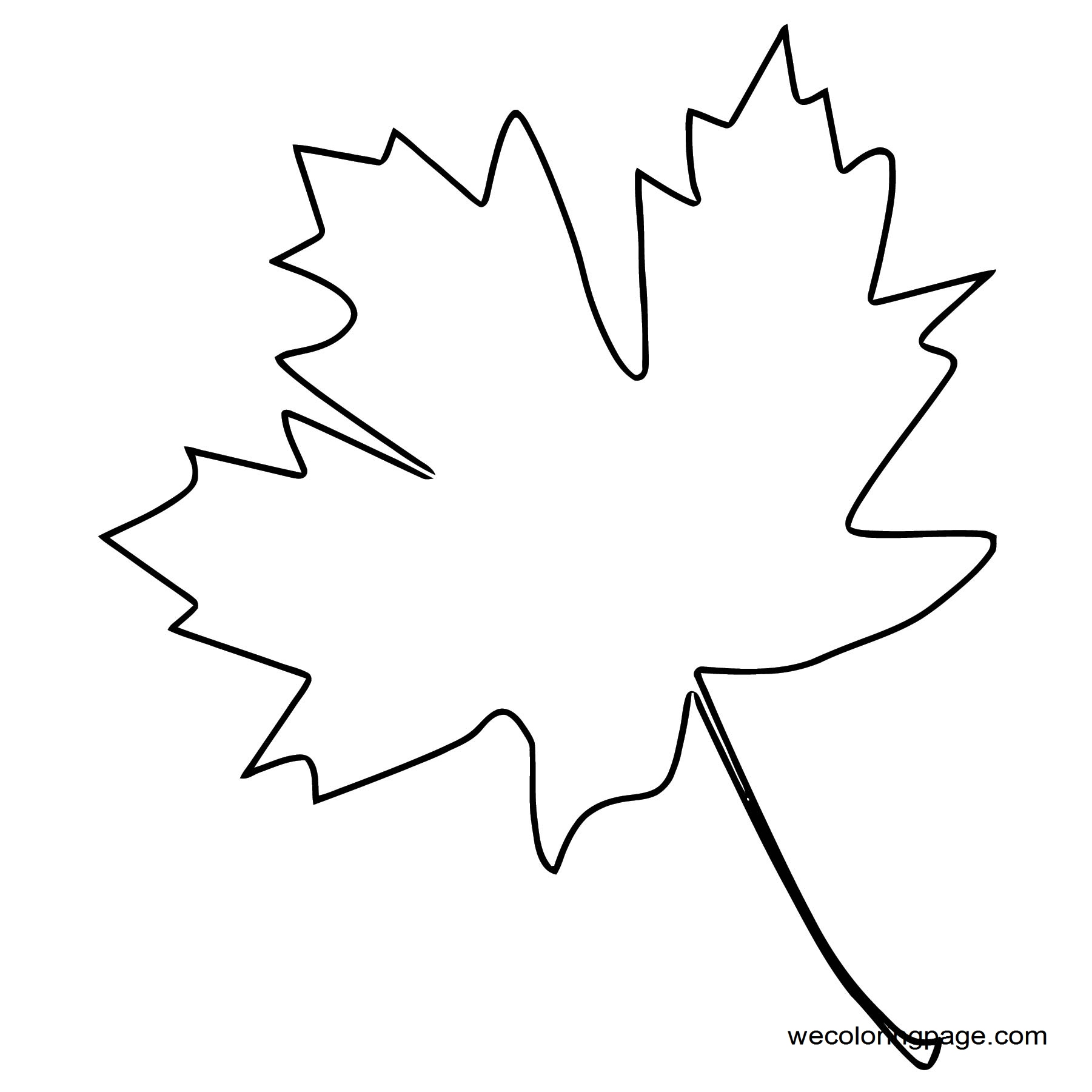 Fall Coloring Page WeColoringPage 097