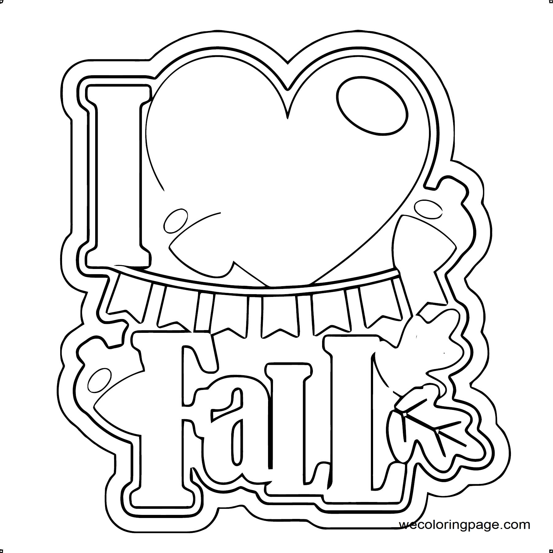 Fall Coloring Page WeColoringPage 103