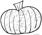 Fall Draw Pumpkin Coloring Page