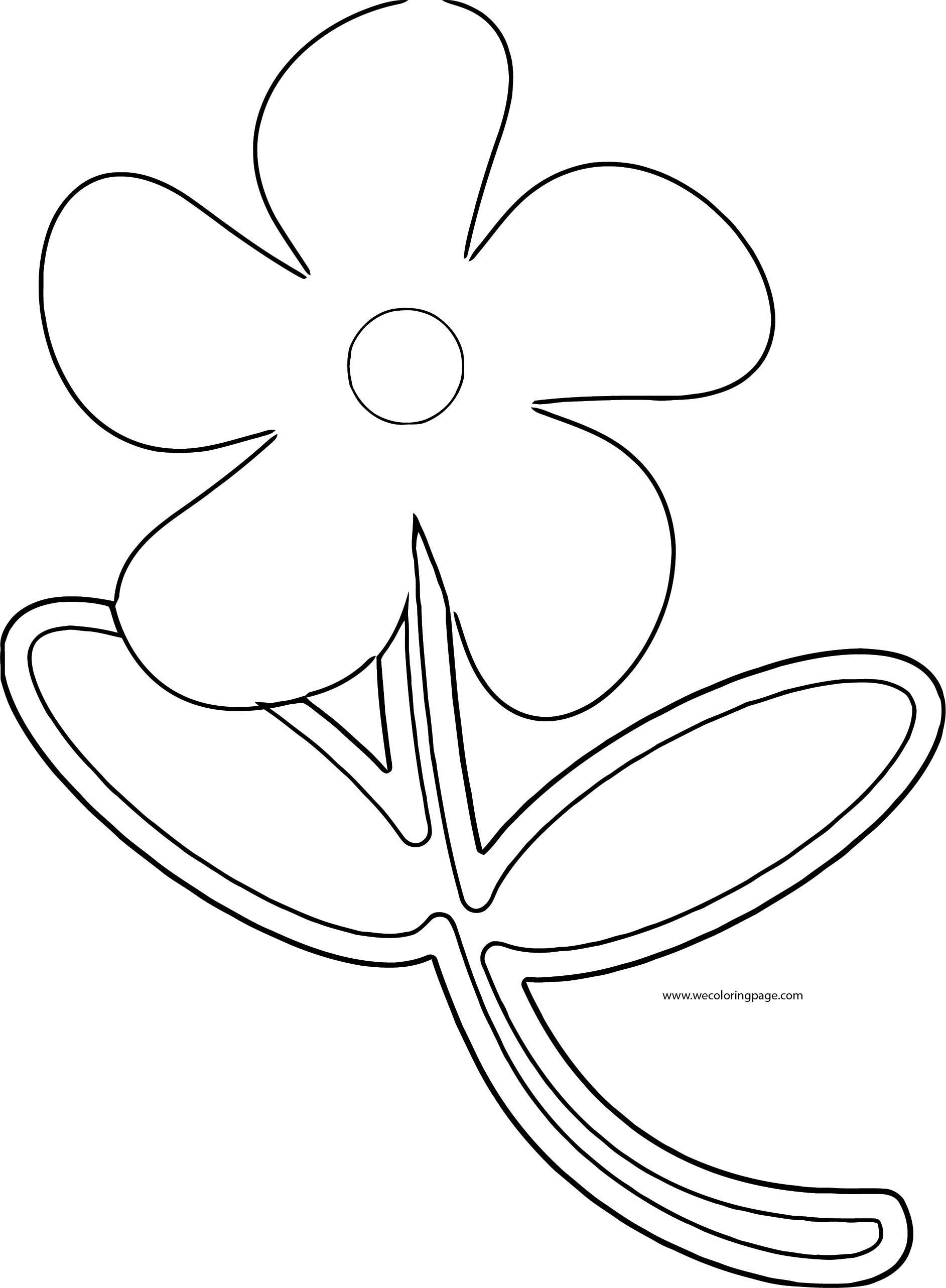 Flower Coloring Page Wecoloringpage 006