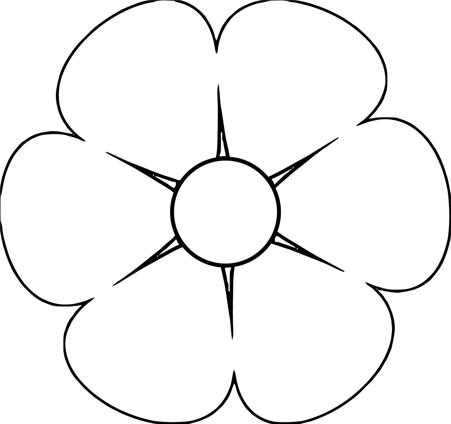 Flower Coloring Page Wecoloringpage 019