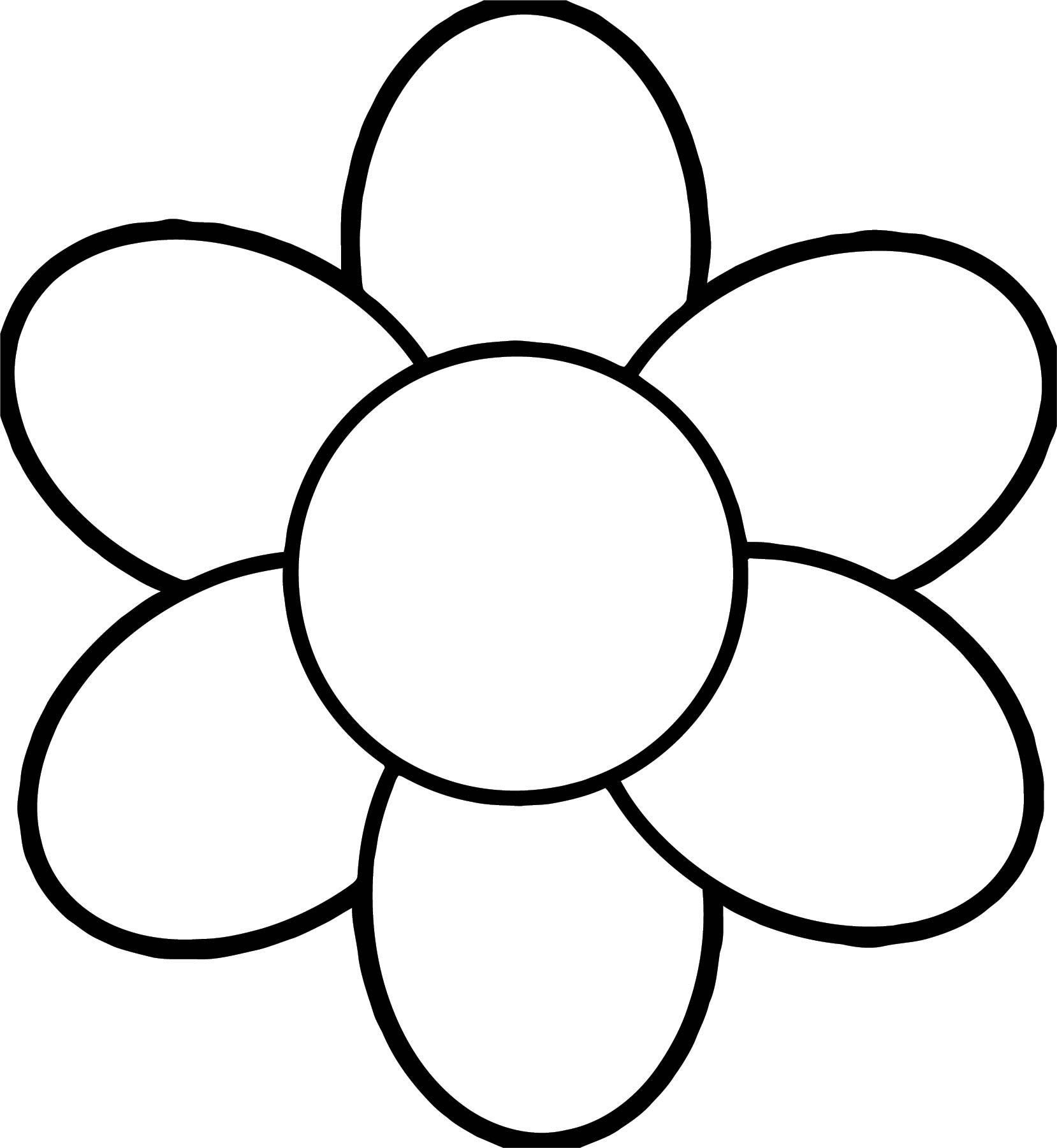 Flower Coloring Page Wecoloringpage 022