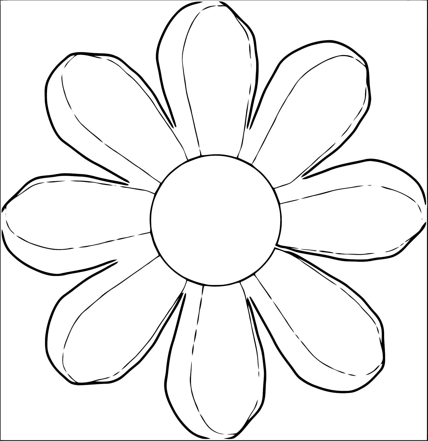 Flower Coloring Page Wecoloringpage 023