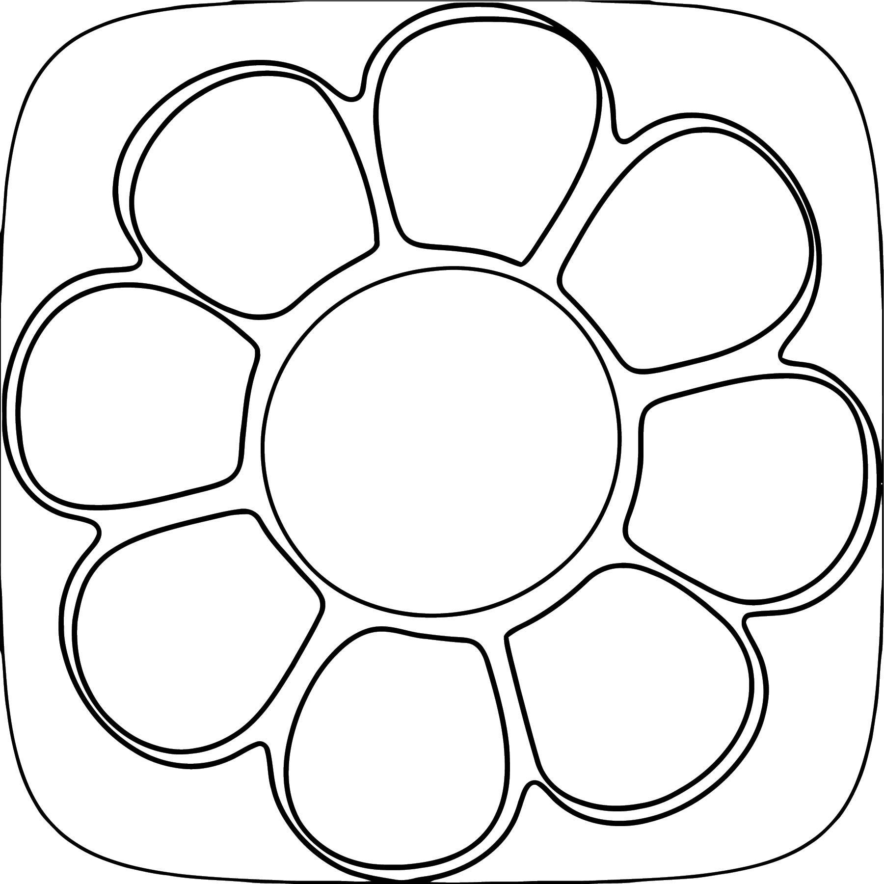 Flower Coloring Page Wecoloringpage 037