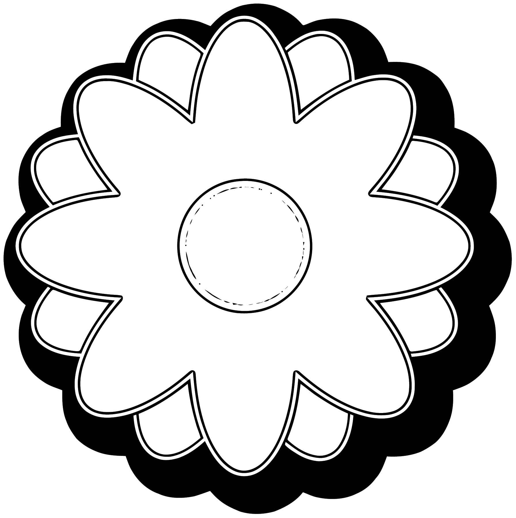 Flower Coloring Page Wecoloringpage 038