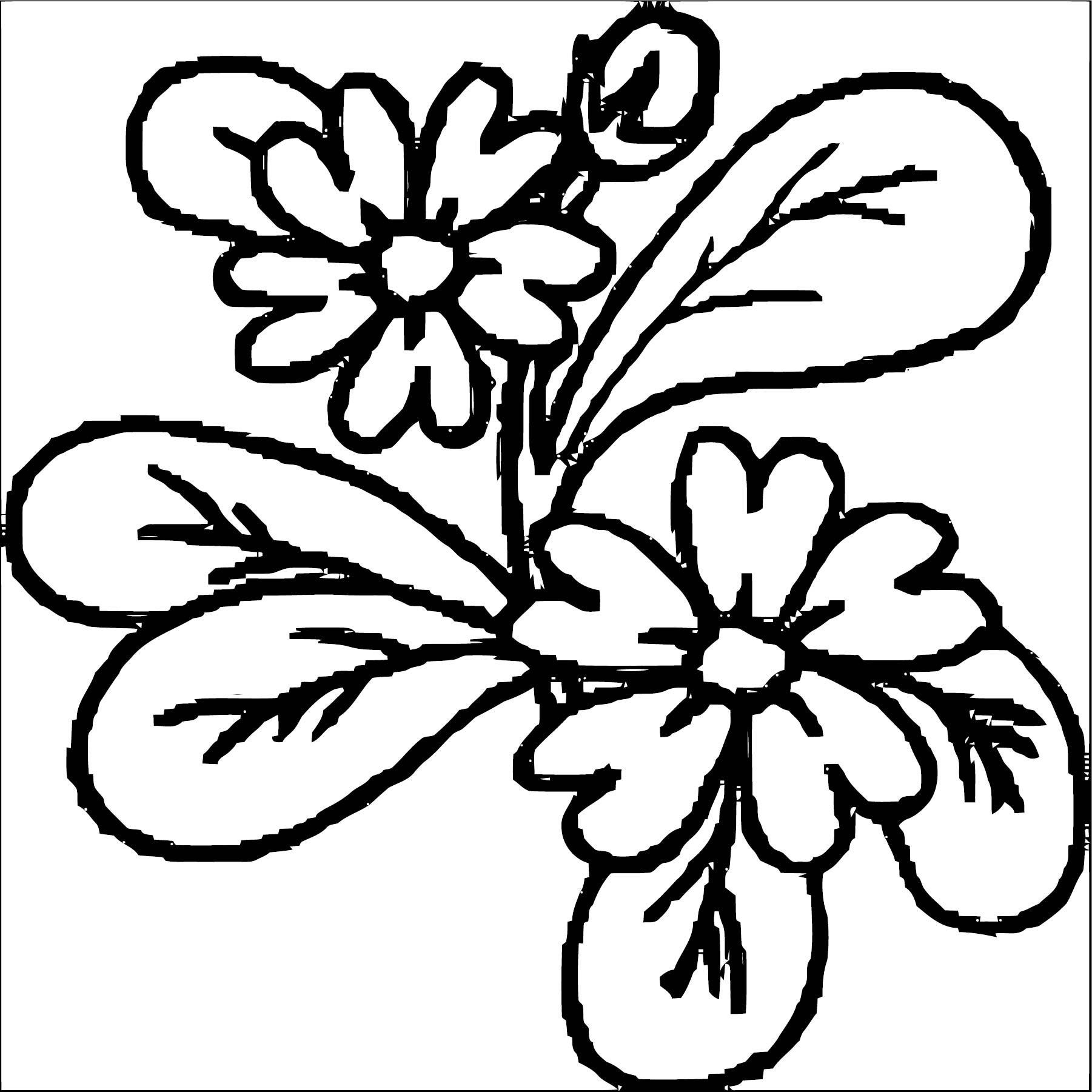 Flower Coloring Page Wecoloringpage 049