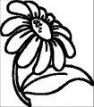 Flower Coloring Page Wecoloringpage 051