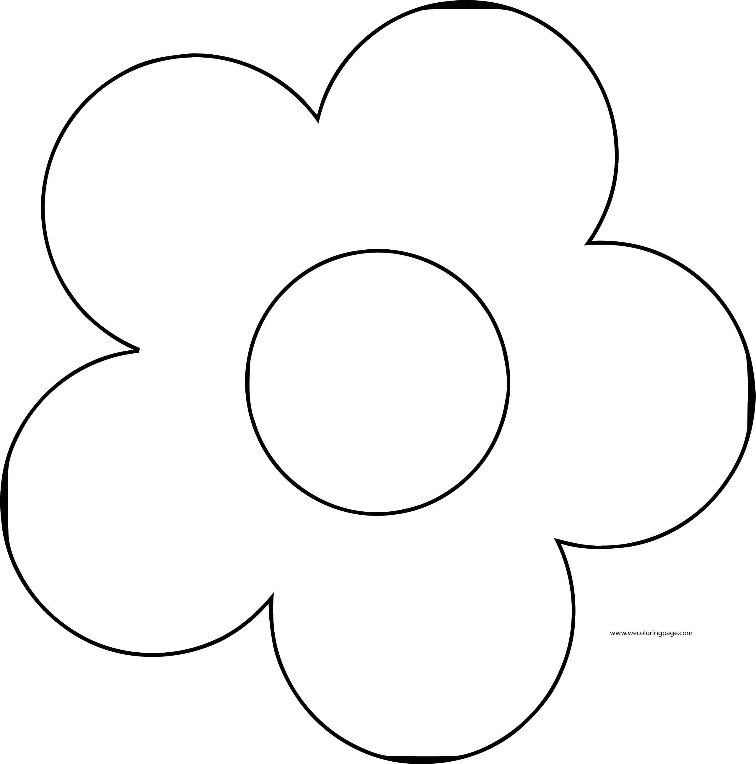 Flower Coloring Page Wecoloringpage 053
