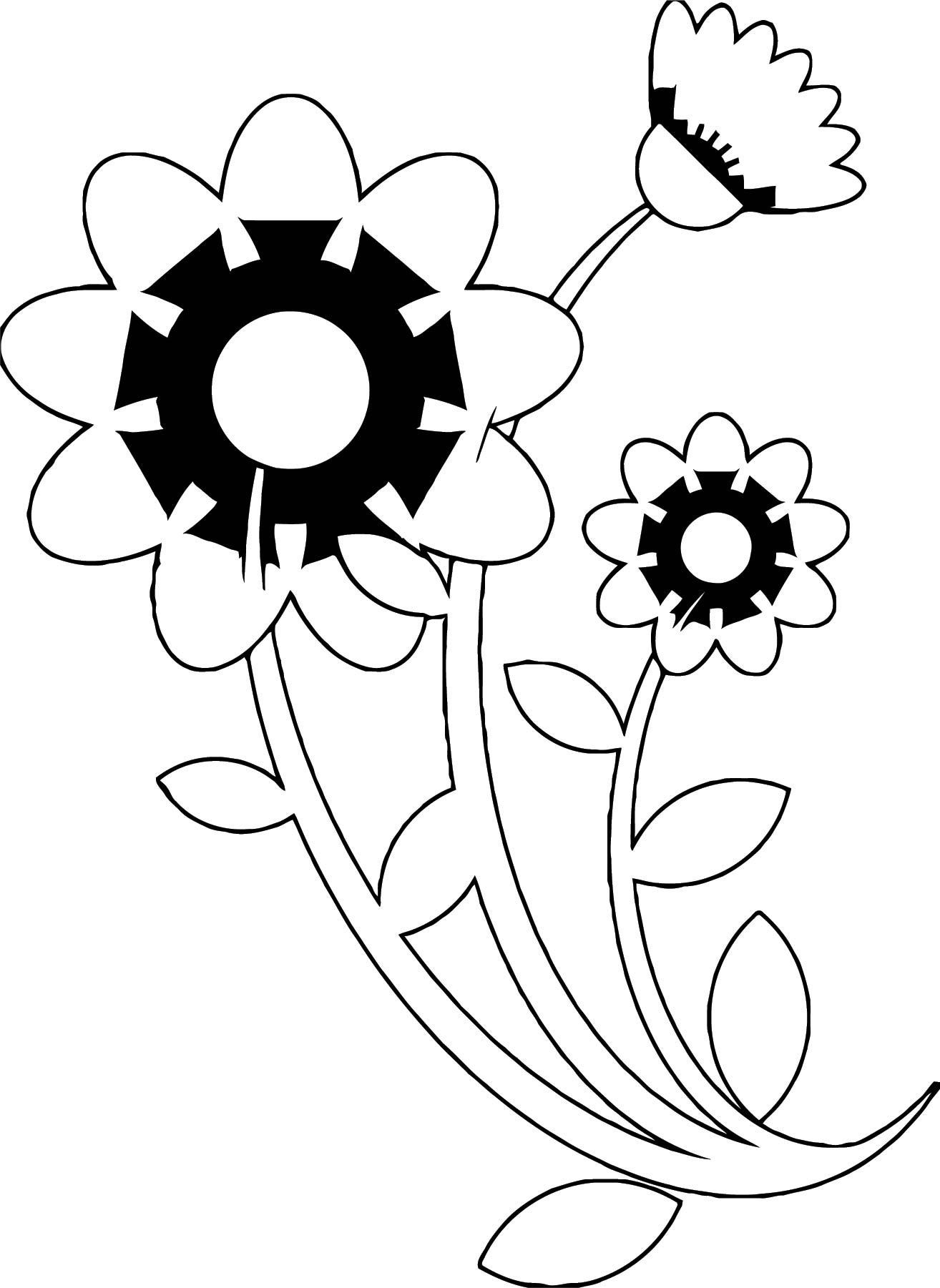 Flower Coloring Page Wecoloringpage 055