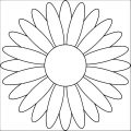 Flower Coloring Page Wecoloringpage 058