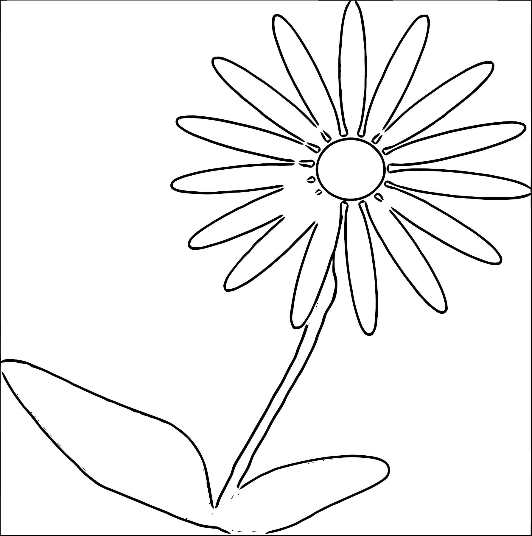 Flower Coloring Page Wecoloringpage 060