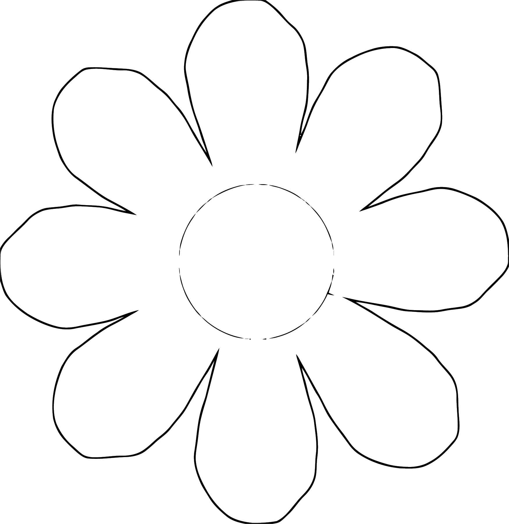 Flower Coloring Page Wecoloringpage 062