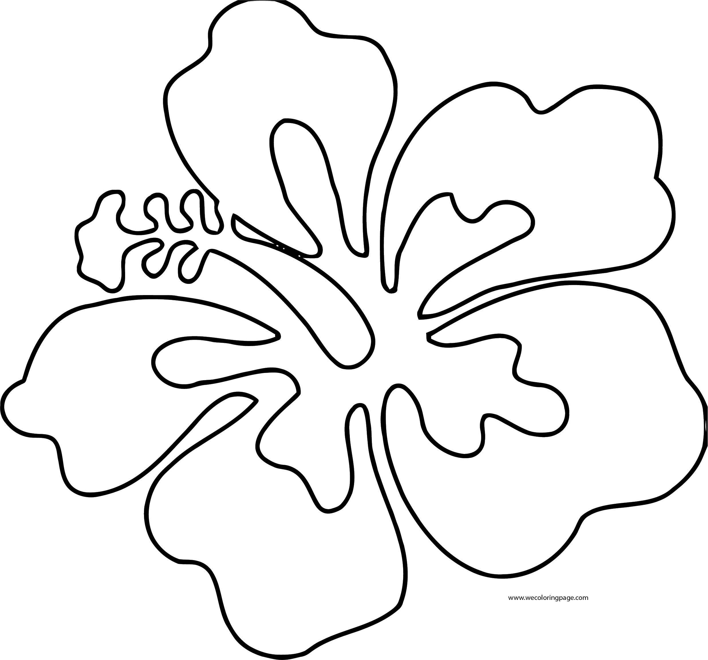 Flower Coloring Page Wecoloringpage 068