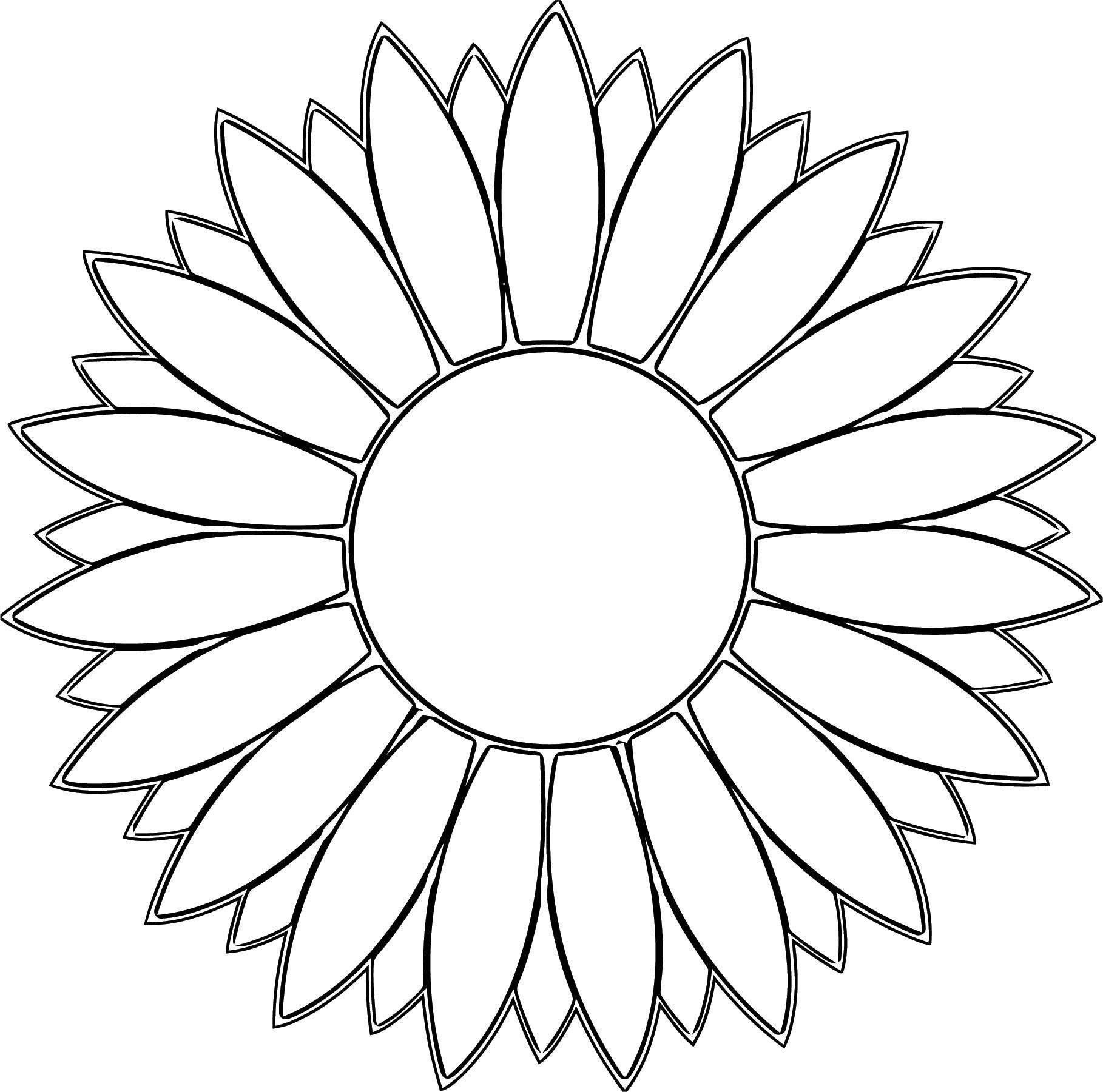 Flower Coloring Page Wecoloringpage 071