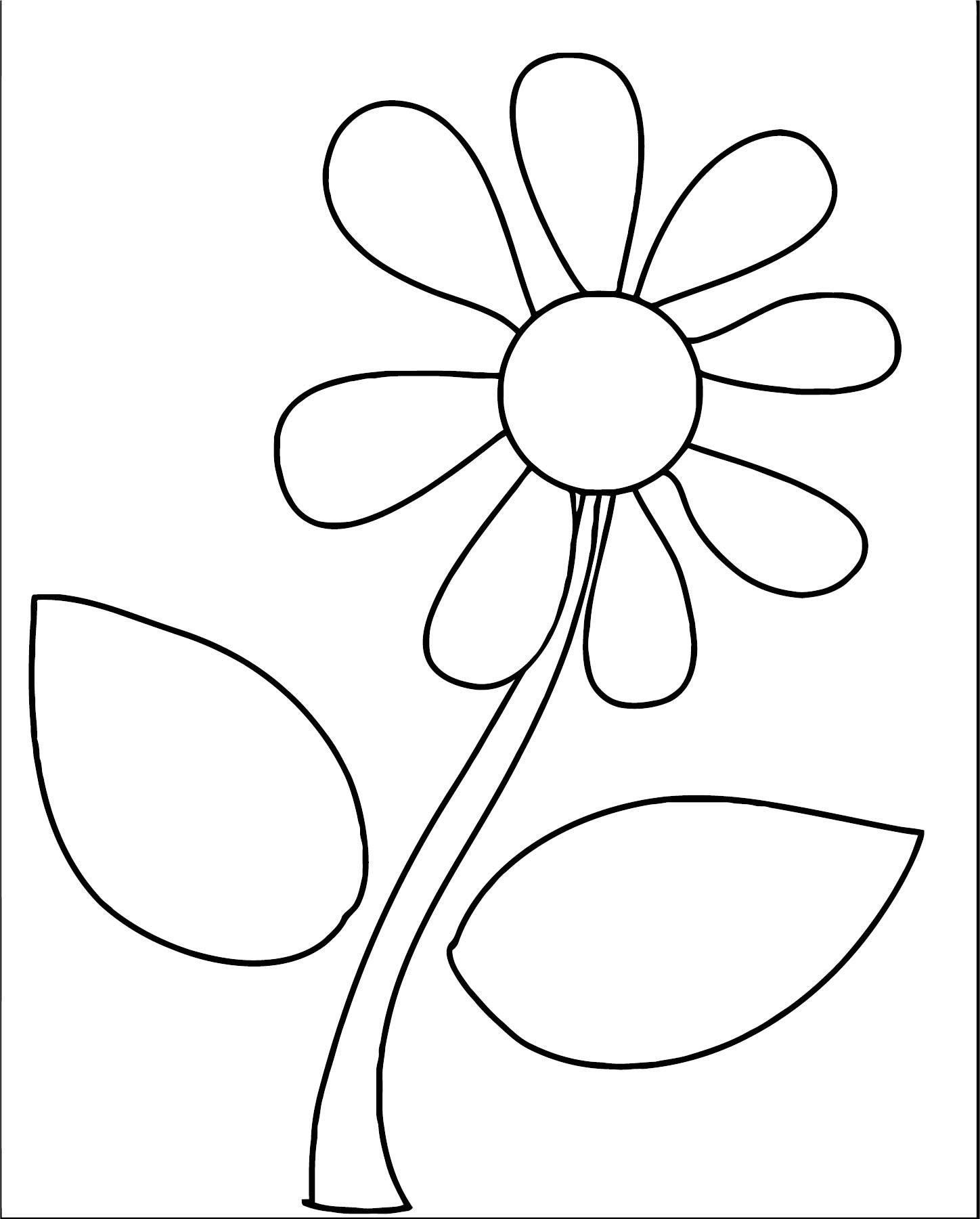 Flower Coloring Page Wecoloringpage 073