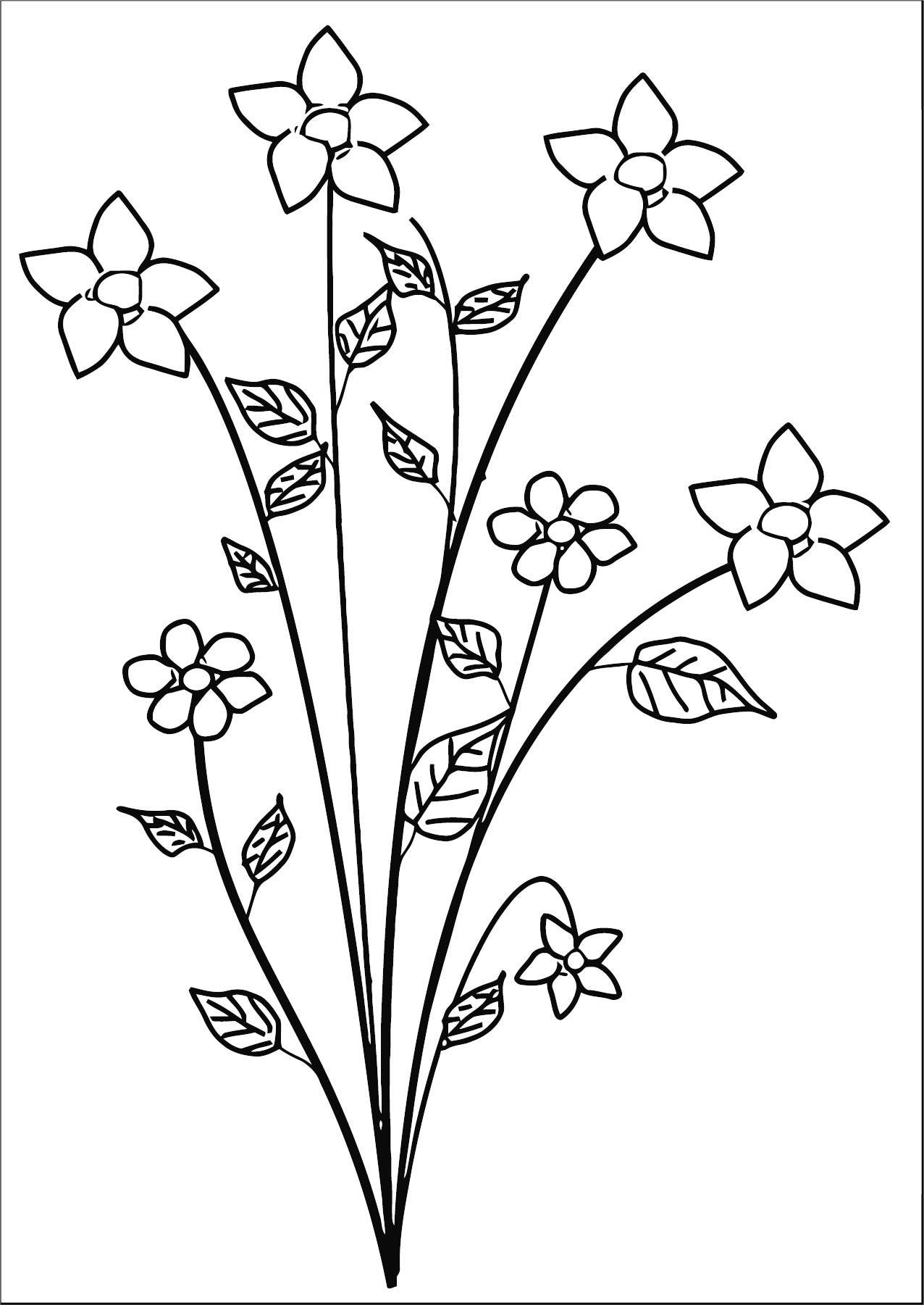 Flower Coloring Page Wecoloringpage 078