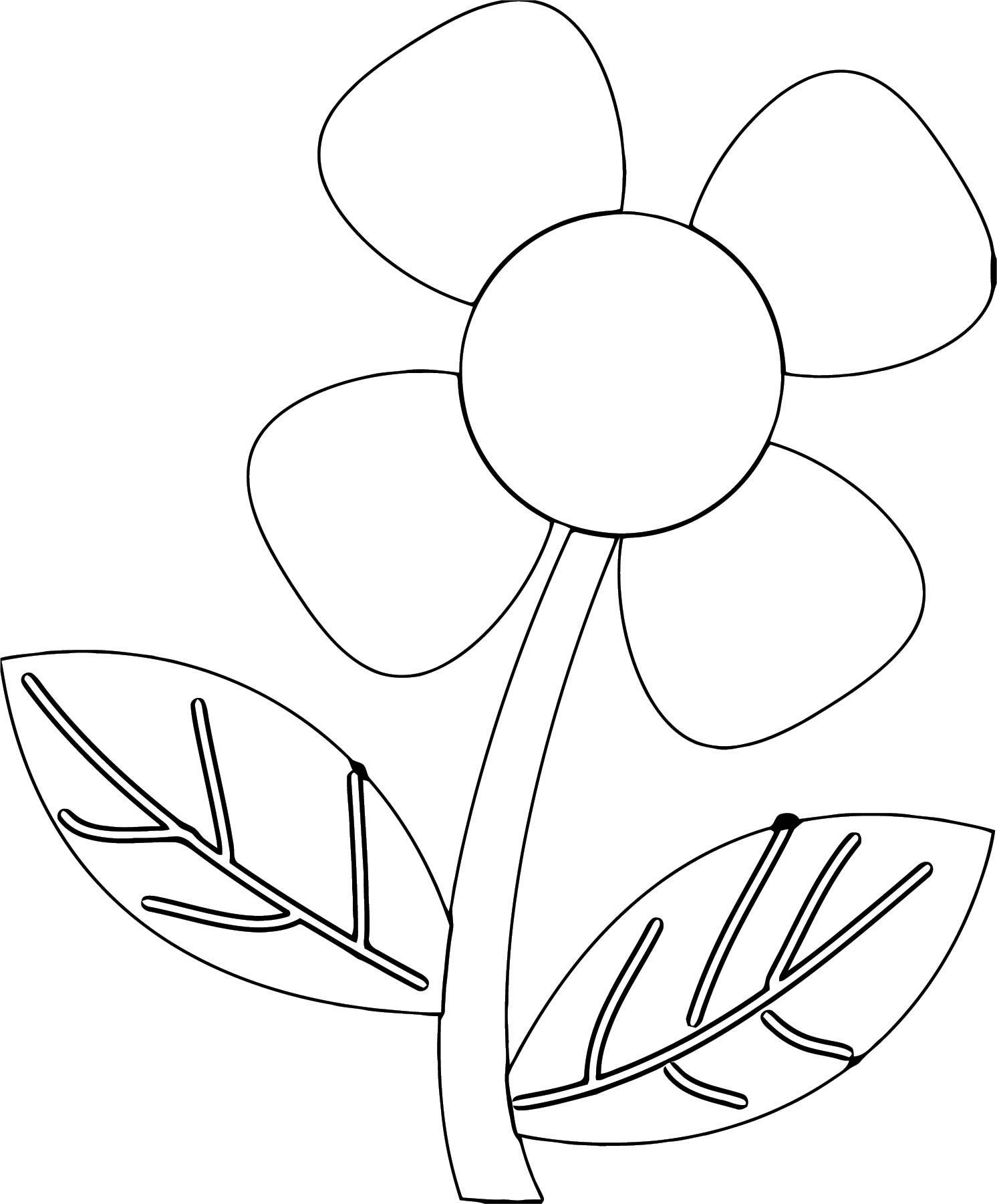 Flower Coloring Page Wecoloringpage 079