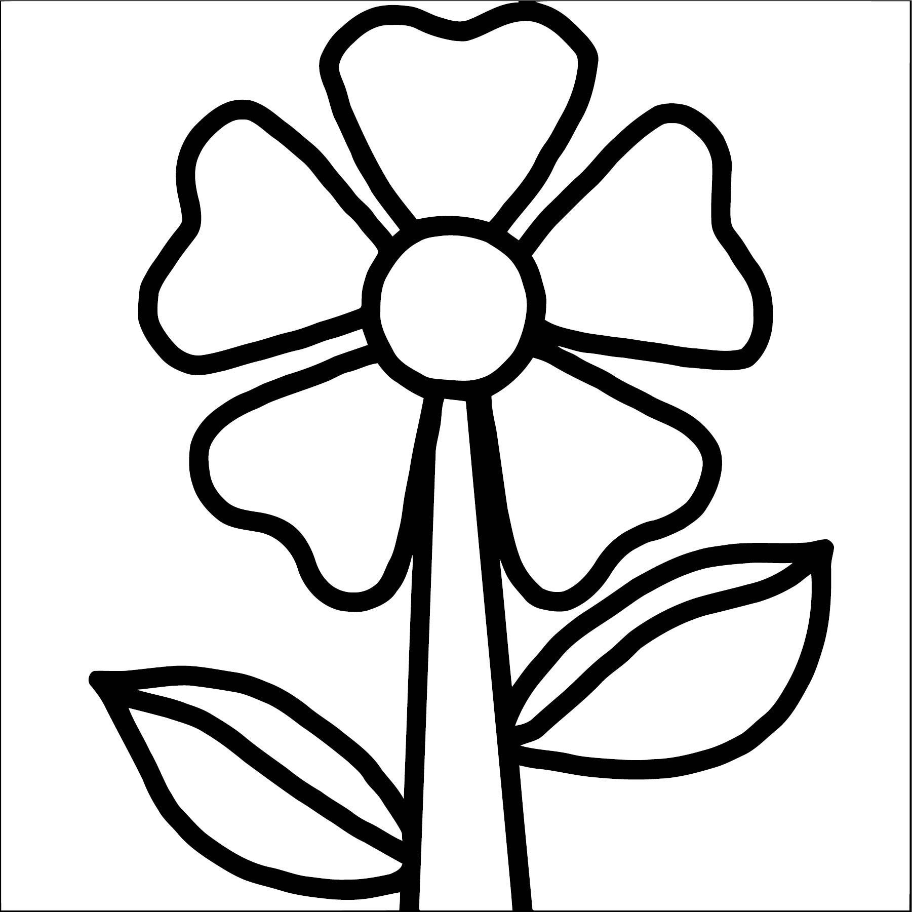 Flower Coloring Page Wecoloringpage 084