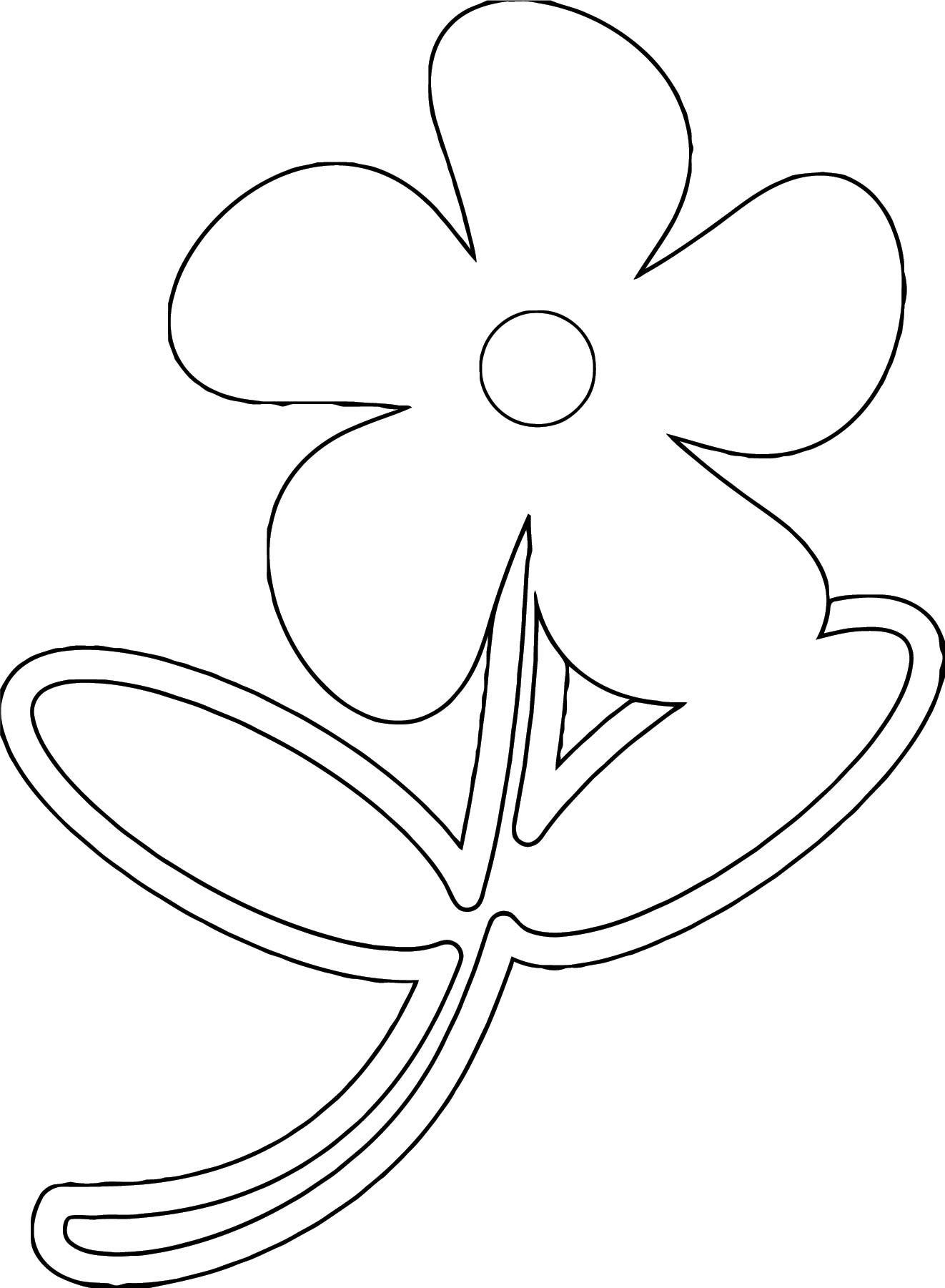 Flower Coloring Page Wecoloringpage 087