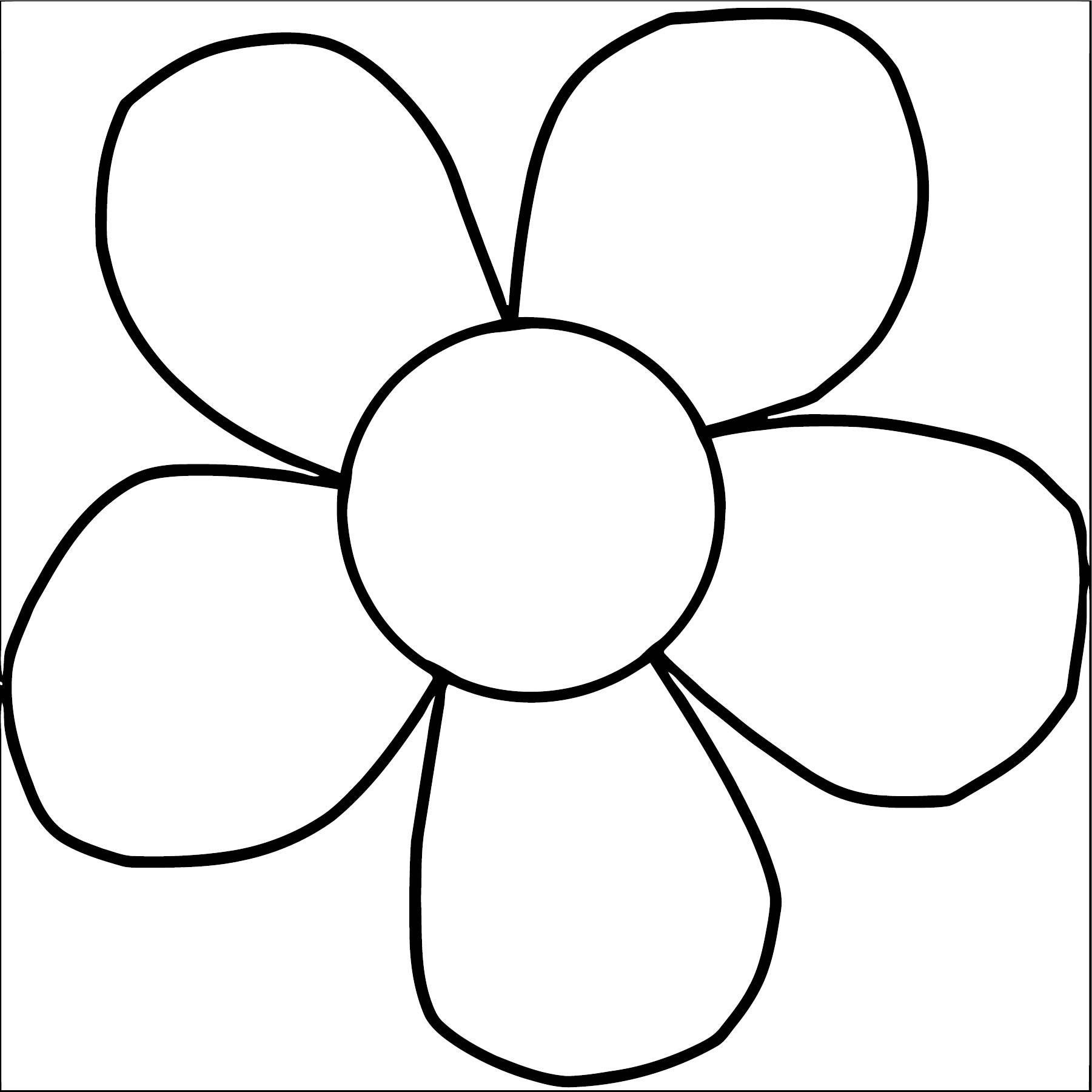 Flower Coloring Page Wecoloringpage 090