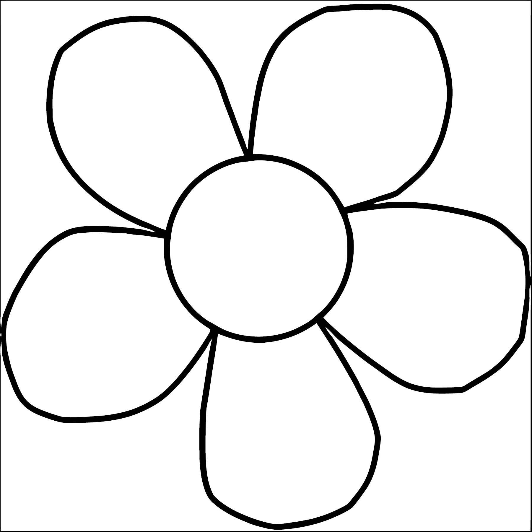 Flower Coloring Page Wecoloringpage 098