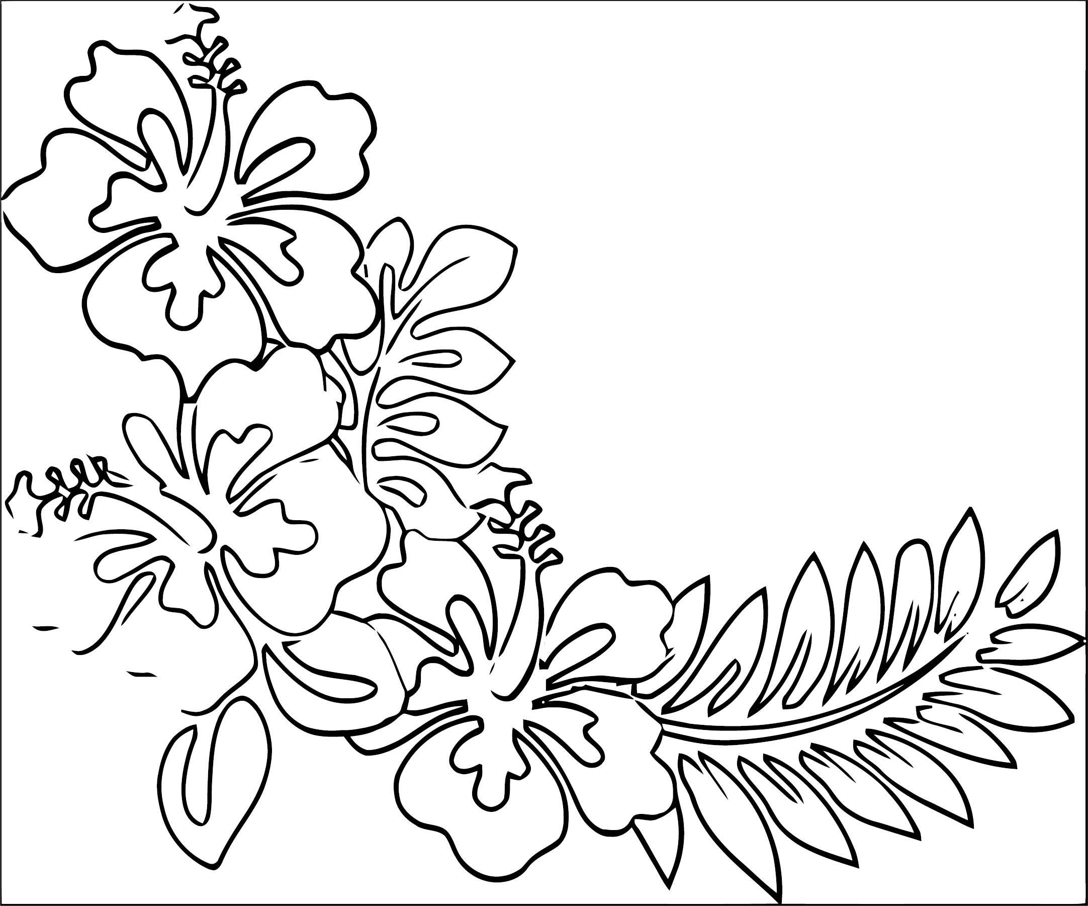Flower Coloring Page Wecoloringpage 099