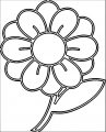 Flower Coloring Page Wecoloringpage 101