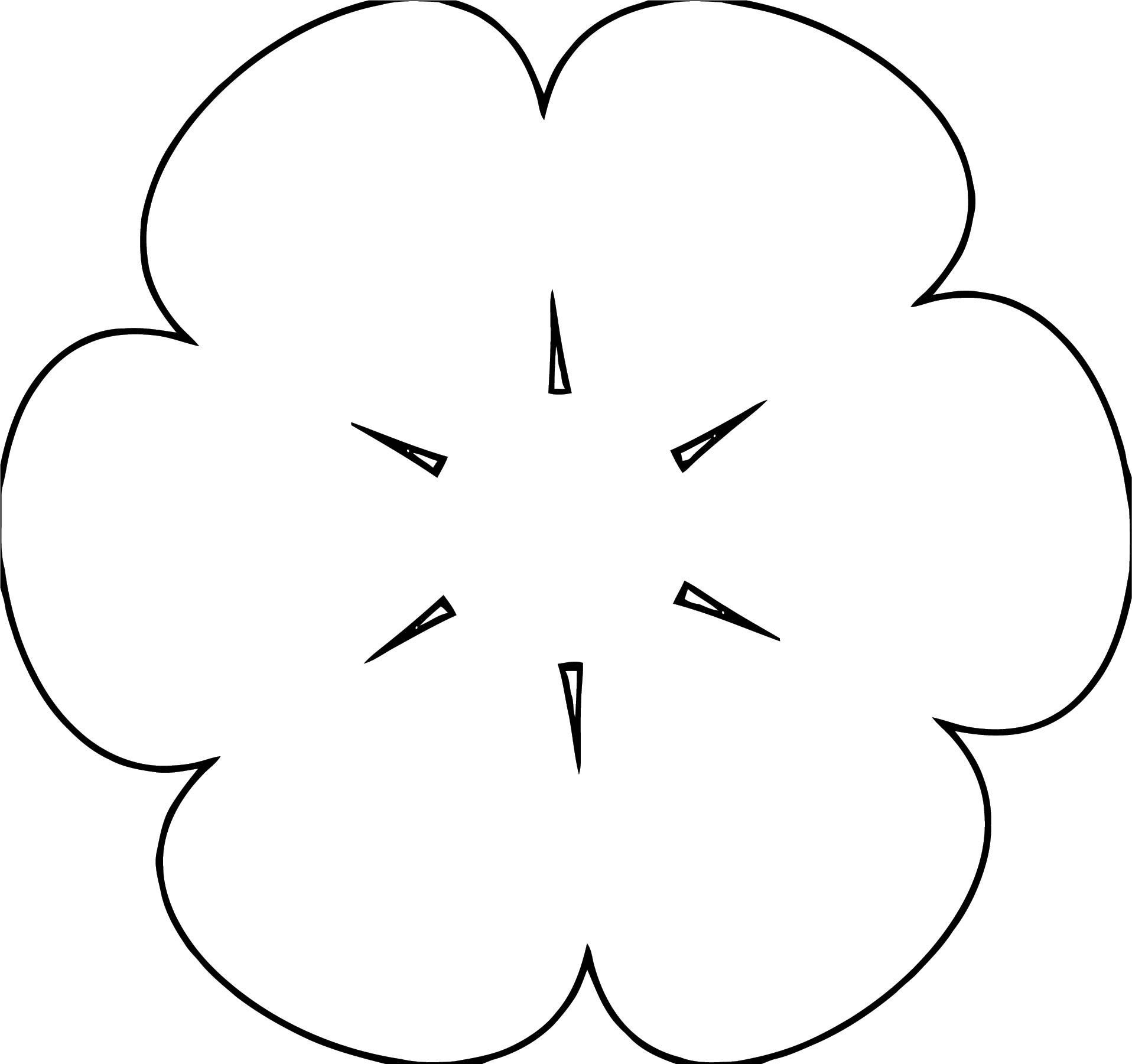 Flower Coloring Page Wecoloringpage 105