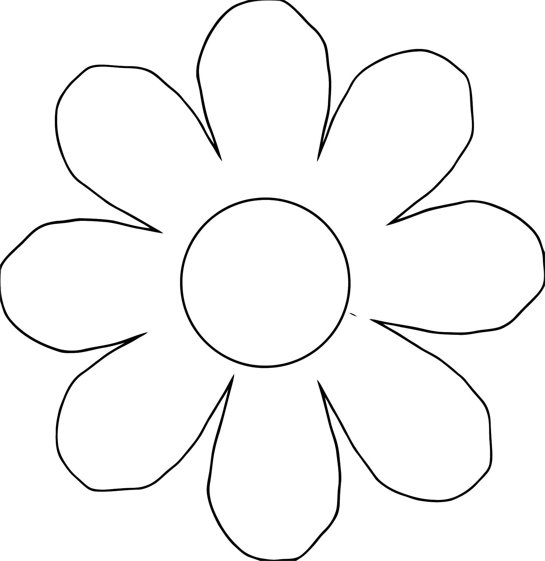 Flower Coloring Page Wecoloringpage 107