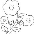 Flower Coloring Page Wecoloringpage 109