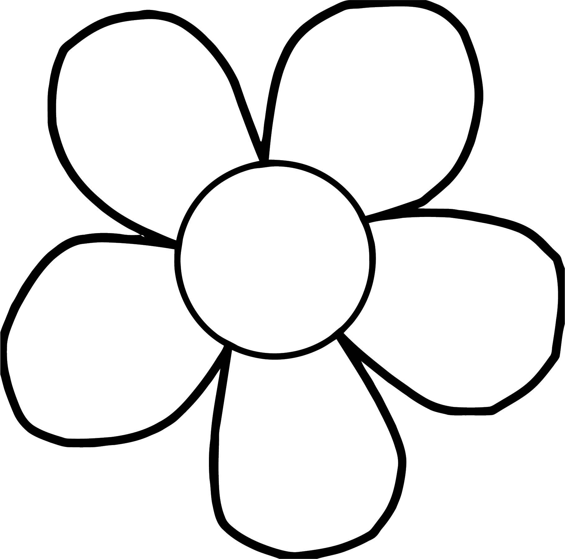 Flower Coloring Page Wecoloringpage 110